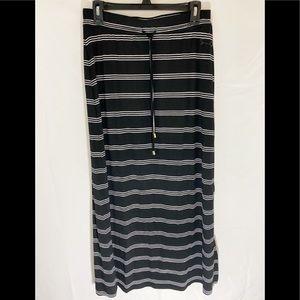 ❤️ 3/20 Seven7  Striped Maxi Skirt M